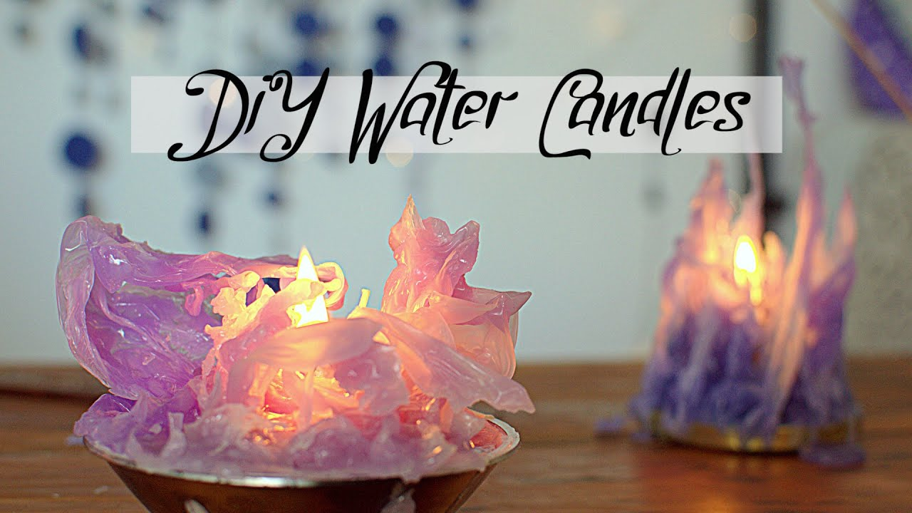Diy Candles Diy Gothic Water Candles Frozen Inspired Mika Chan Sailor