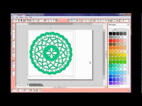 Doily Designing with Silhouette Studio...