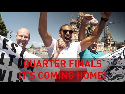 Quarter Finals: It's Coming Home! | Rio's WC18 Vlogs