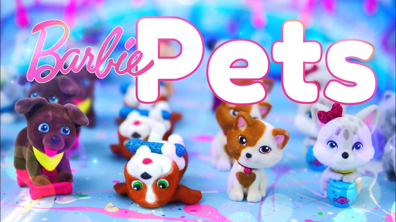 Unbox Daily: Barbie Pets Blind Boxes Series 3 COMPLETE Collection