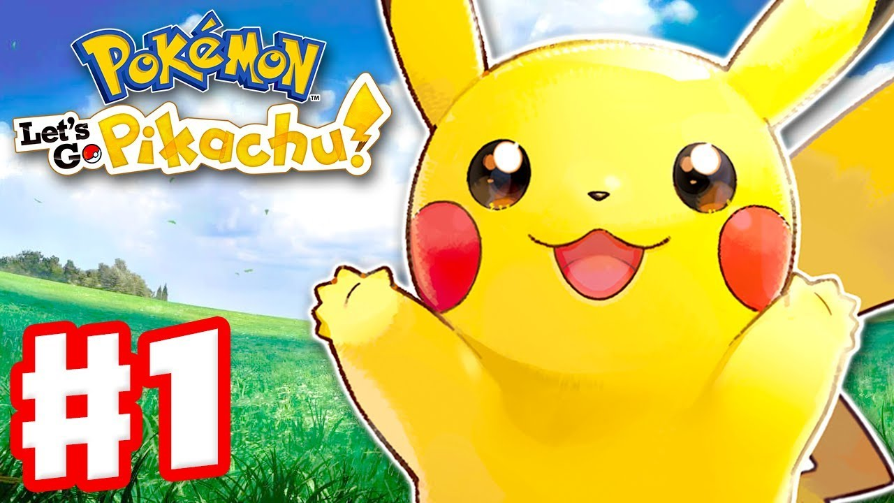Pokemon Let's Go Pikachu and Eevee – Gameplay Walkthrough Part 1 – Intro and Gym Leader Brock!