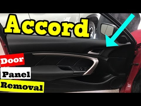 2008-2012 Honda Accord Coupe Door Panel Removal How To Remove