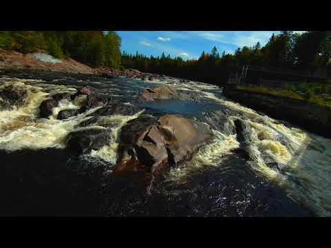 Фото DJI FPV drone shots river and bridges, Shannon, Qc