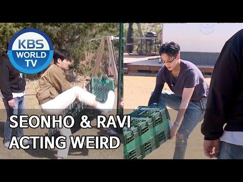 Seonho & Ravi Acting Weird [2 Days & 1 Night Season 4/ENG/2020.04.26]