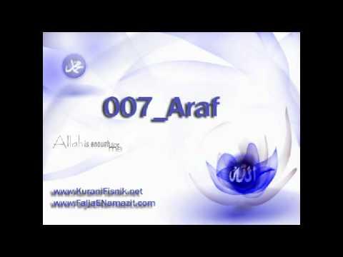 Kur'ani Fisnik (Audio-me ze) ne gjuhen shqipe - 007_Araf