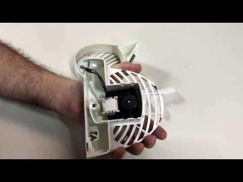 Como trocar motor ventilador geladeira Ge Continental e Bosch