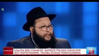 Adrian Klarenbach orze rabina w programie na ywo