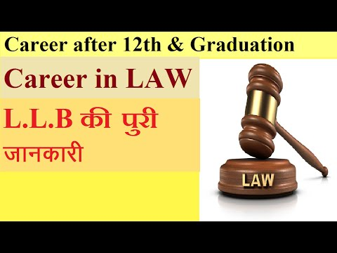 CAREER IN LAW/HINDI/ELIGIBILITY/COURSE DETAILS/ENTRANCE EXAMS/TOP COLLEGES/JOBS/FURTER EDUCATION