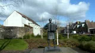 Jimmy Shand Memorial Statue scotland