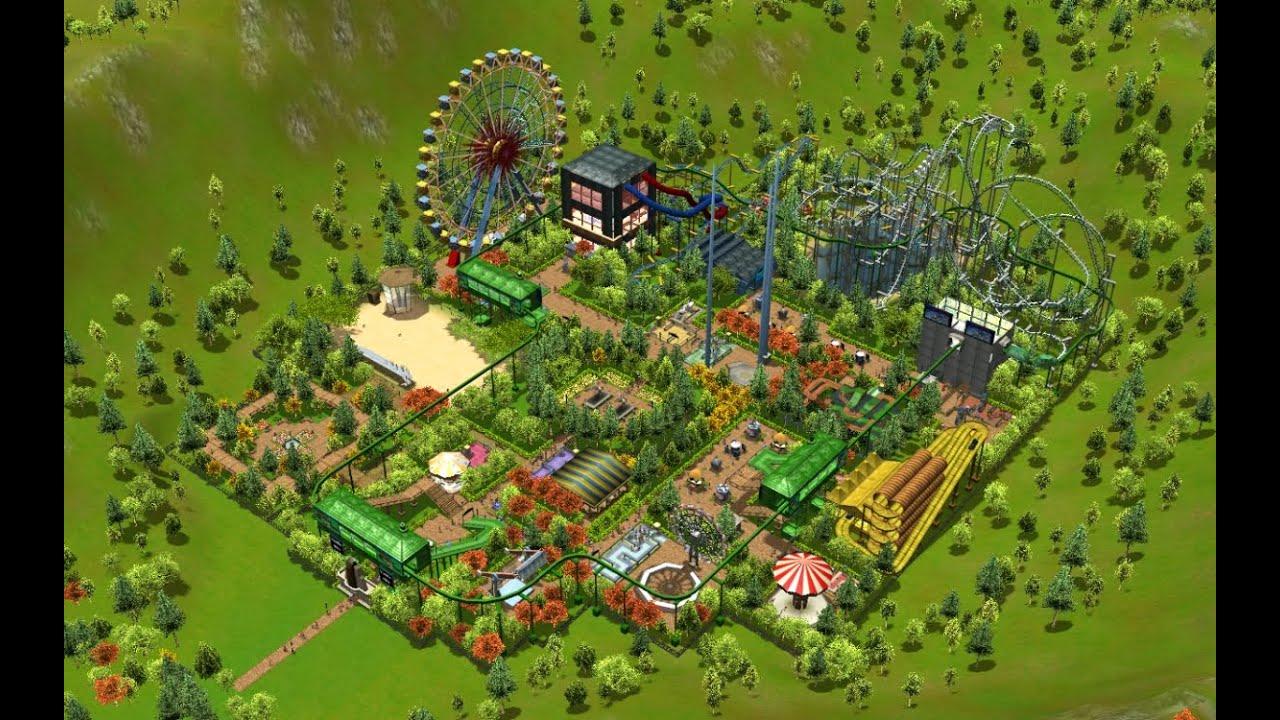 RollerCoaster Tycoon 3 - Vanilla Hills (Scenario 1)