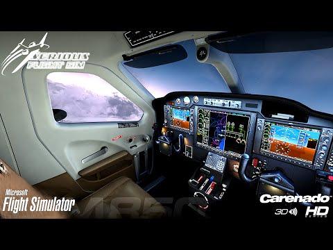 FSX ᴴᴰ | Carnado TBM 850 | G1000 Terrain and Night Flying