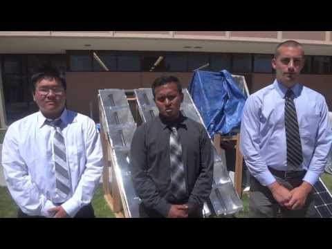 Water Desalination System Prototype