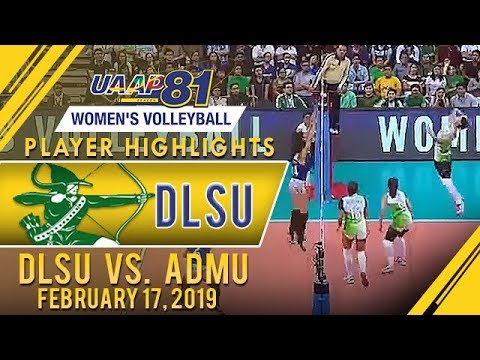 UAAP 81 WV: Rookie Jolina Dela Cruz Shines In La Salle Debut | February 17, 2019