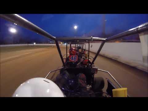 Snydersville Raceway - Sr Champ Heat 4/13/18