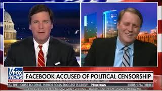 Tucker Carlson Is Facebook Censoring Conservatives? 04.11.2018