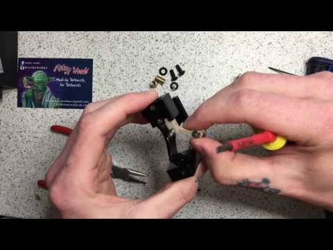 How to fix your ID Liner Rotary Works tattoo machine