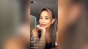 Mia C. & Katja Krasavice livestream Instagram