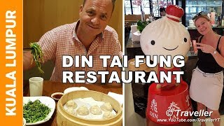 DON´T MISS the famous Soup Dumplings at the Pavilion Shopping Mall in Kuala Lumpur - Din Tai Fung