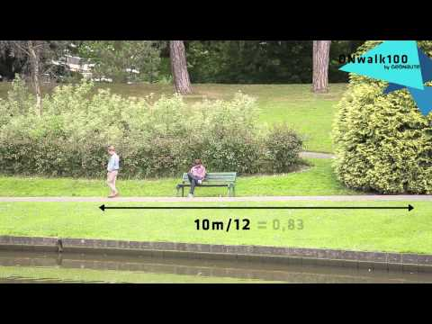 Как измеряется длина шага человека