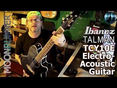 Ibanez Talman TCY10E Slim Line Electro-Acoustic Guitar Review