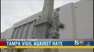 Tampa vigil against hate