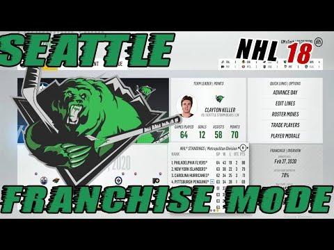 "NHL 18: Seattle Franchise Mode #8 ""Agent C, Rocket Richard?!"""