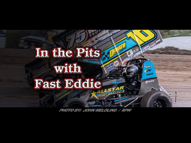 In the Pits with Fast Eddie Paulie Colagiovanni