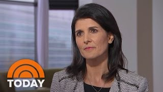 UN Ambassador Nikki Haley: Revised Travel Ban Is 'Not A Muslim Ban' (Exclusive) | TODAY