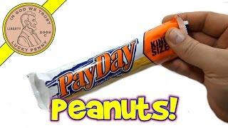 Payday King Size Peanut & Caramel Candy Bar - Usa Candy Tasting