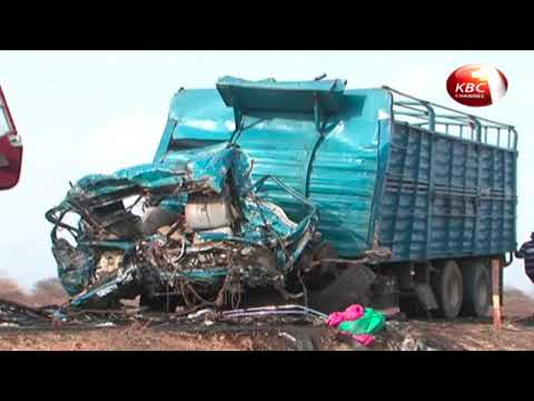 10 people killed, 30 injured after bus rams into a lorry