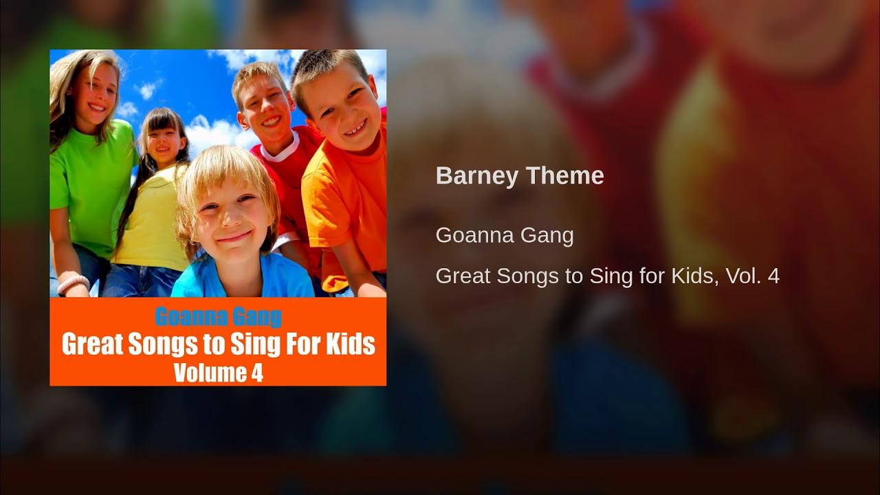 barney theme instrumental youtube