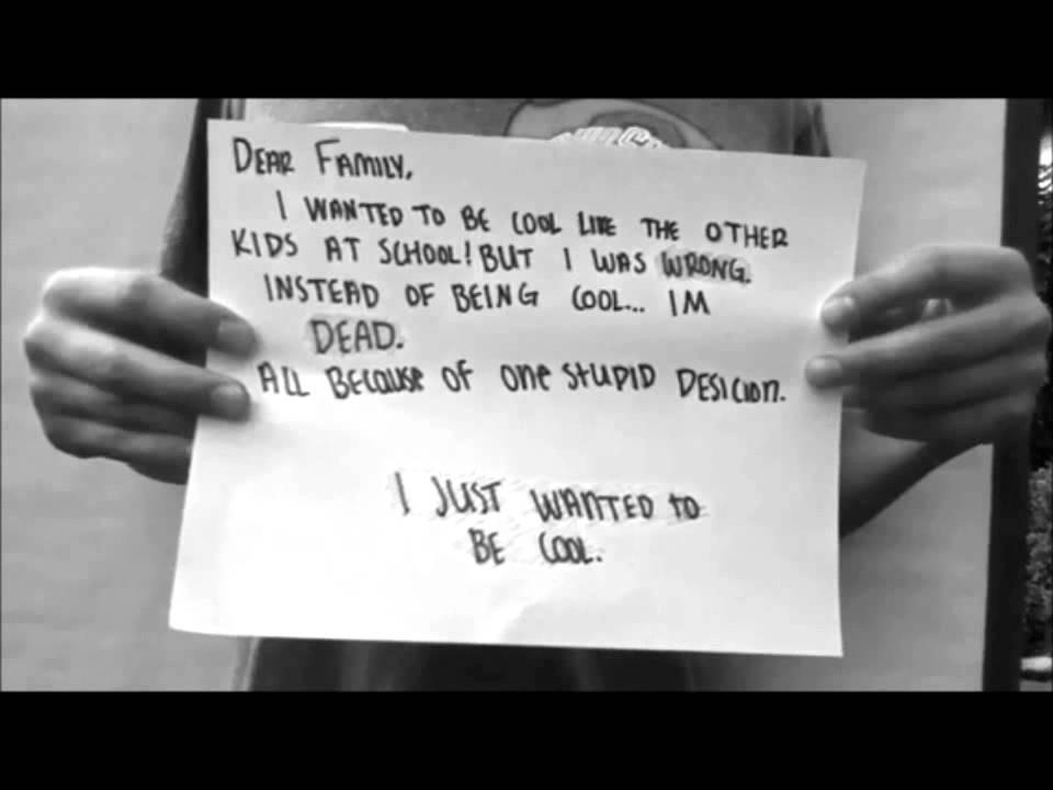 Ridgeview 7th Grade Anti-Drug Campaign Video.wmv - YouTube