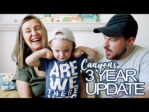 Canyon's Three Year Old Update!