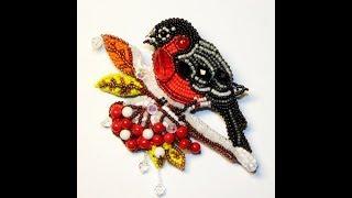 птички из бисера. bird beads