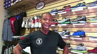 Correct running shoe size