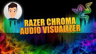 Audio visualizer on razer keyboard