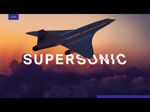 Supersonic air travel is finally coming back