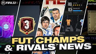 FIFA 22 ULTIMATE TEAM! - NEW FUT CHAMPS & RIVALS INFORMATION