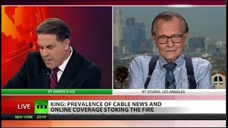 Cable News Fuels Anger In Politics – Larry King