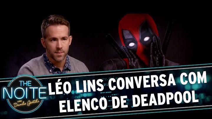 the noite 080316  lo lins conversa com elenco de deadpool