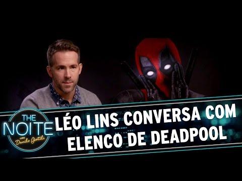 The Noite (08/03/16) - Léo Lins Conversa Com Elenco De