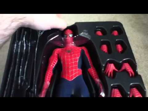 Hot Toys Spiderman Unboxing
