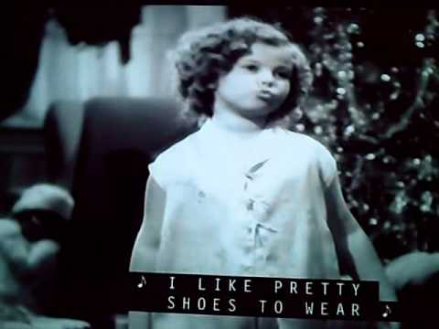 Shirley Temple THAT'S what I want for Christmas!