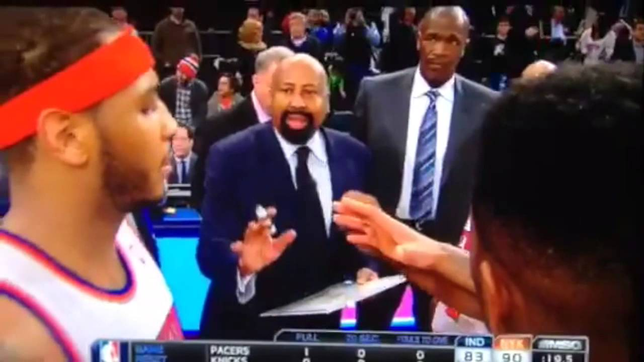 Carmelo Anthony Wants Mike Woodson to Shut Up