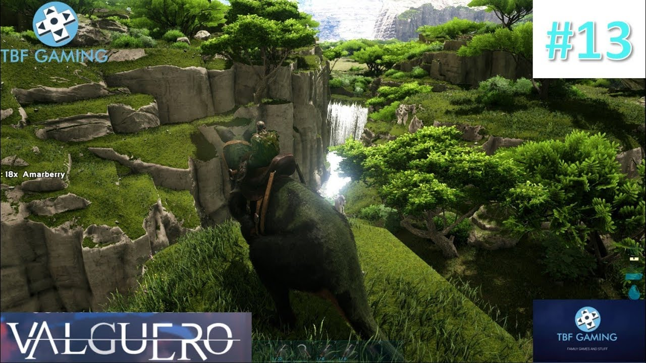 Map Explore and Base Work #13 Valguero Map Ark Survival Evolved