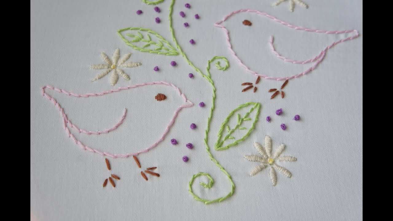 Simple Embroidery Border Designs