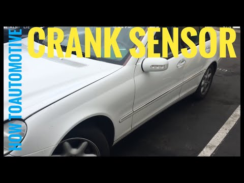 How to Replace the Crank Sensor on a 2001 Mercedes C240