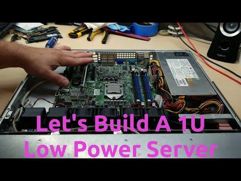 Lets Build A 1U Low Power Server