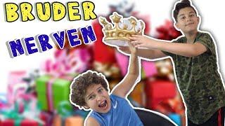BRUDER NERVEN - SO TUN ALS HÄTTE mein KLEINER  BRUDER GEBURTSTAG