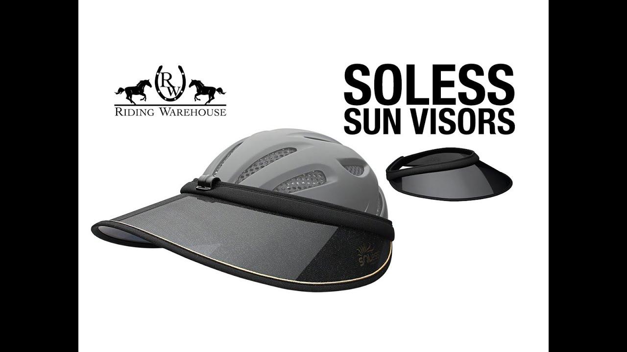53cd6eec Soless Classic UV-Blocking Riding Helmet Visor - Riding Warehouse